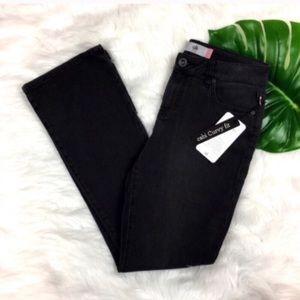 CAbi NWT Curvy Slim Boot Cut Jeans in Shadow